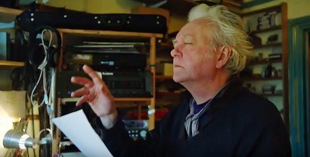 Billy in the studio